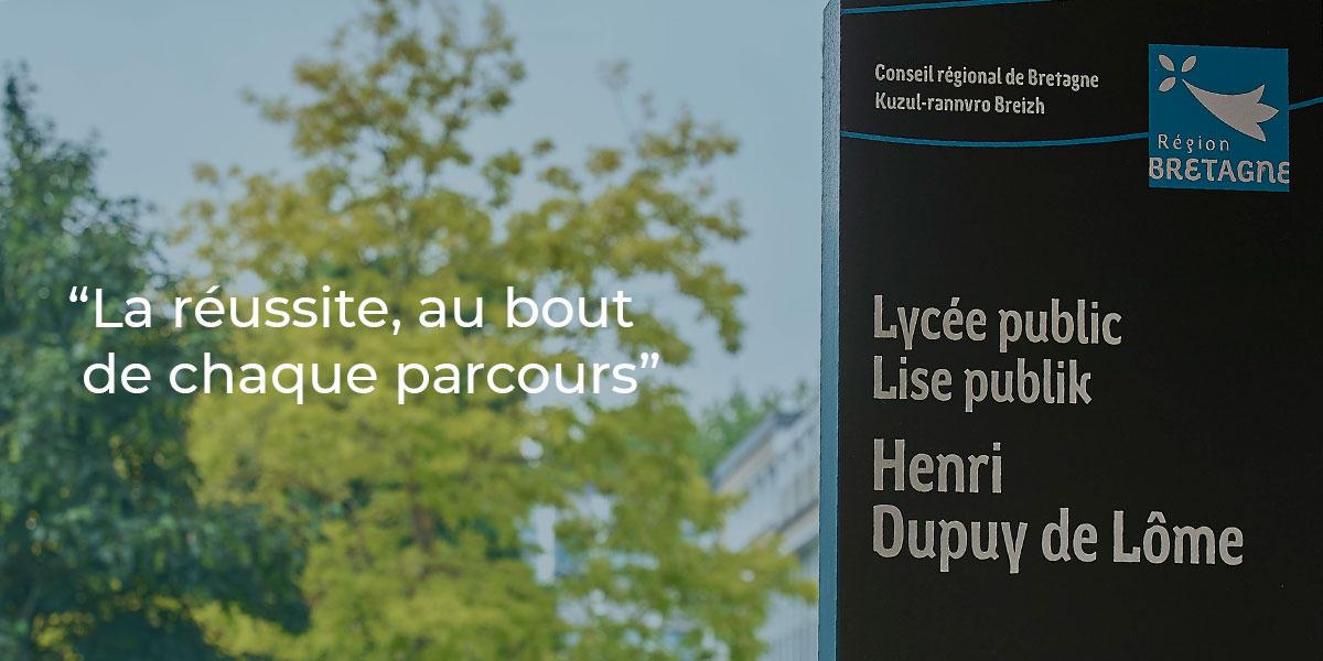 Journée Portes ouvertes du Lycée Dupuy de Lôme à Lorient