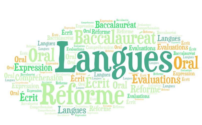 nuage réforme langues