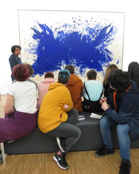 visite guidée musée Pompidou